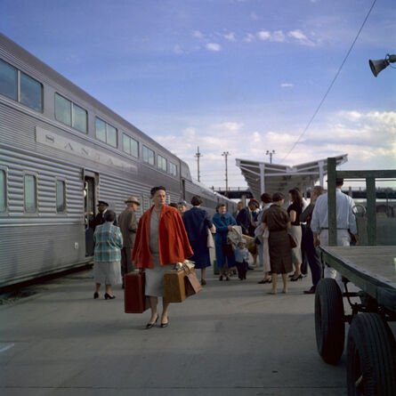 Vivian Maier, 'Santa Fe Railroad, Chicago', 1959