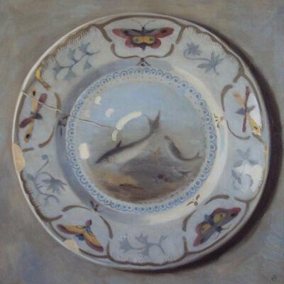 Olga Antonova, 'Plate with fish design', 2017