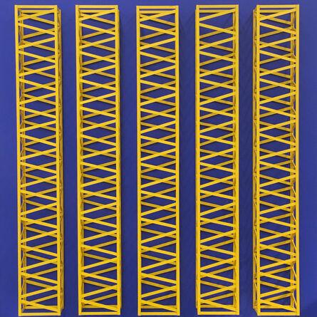 Rasheed Araeen, 'Neela Peela (Blue Yellow)', 1970