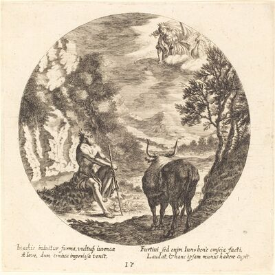 Georg Andreas Wolfgang, the Elder, 'Jupiter Changing Io to a Cow', 1665