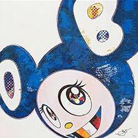 Takashi Murakami, 'AND THEN X 727 (ULTRAMARINE: GUNJO)', 2013