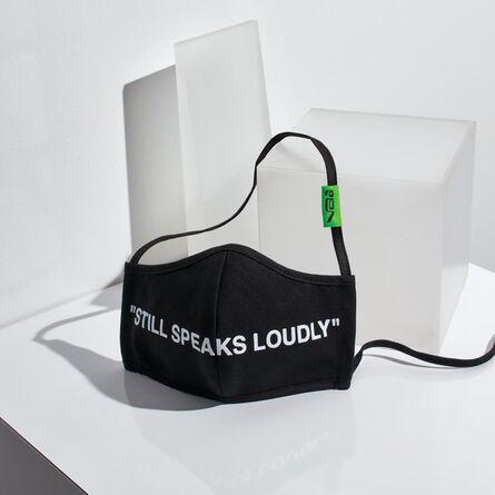 """Virgil Abloh, '""""Still Speaks Loudly"""" Face Mask', 2020"""