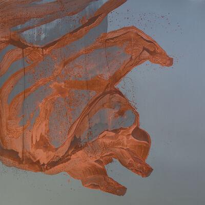 Daniel Lergon, 'Ohne Titel (Kupfer auf Zink)', 2015