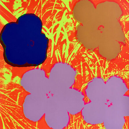 (after) Andy Warhol, 'Flowers 11.69', 1967 printed later