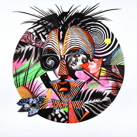 Peter D. Gerakaris, 'Cosmos Vision Mask Remix', 2017