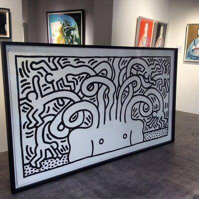 Keith Haring, 'Medusa Head', 1986