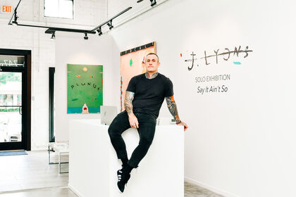 Justin Lyons Solo Exhibition: Say it Ain't So