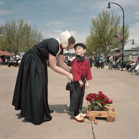 Naomi Harris, 'Mother Adjusting Sons Pants, Tulip Festival, Orange City, Iowa', 2008-2015