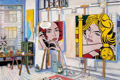 Damian Elwes - Artist Studios: From Picasso to Kusama