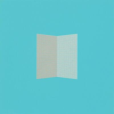 Tess Jaray RA, 'After Malevich - Pale Blue', 2012