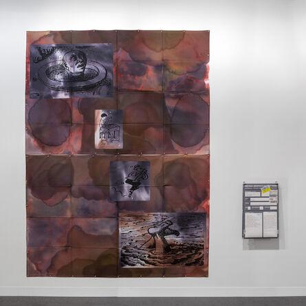 Eugenio Dittborn, 'Heráldica. Airmail Painting No. 156', 2003-2004