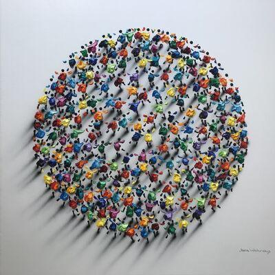 Jane Waterous, 'Circle Crowd 3136', 2021