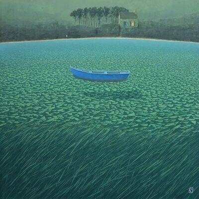 Philippe Charles Jacquet, 'la barque bleue', 2020