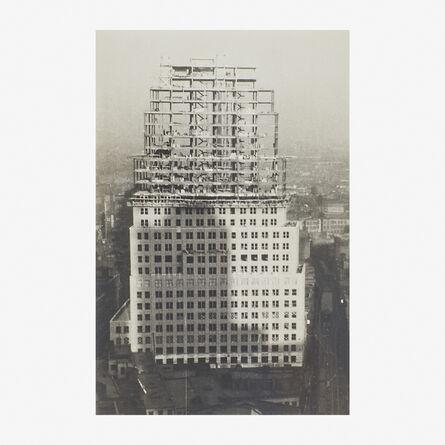 Walker Evans, 'Untitled (Chrysler Building Construction)', 1935