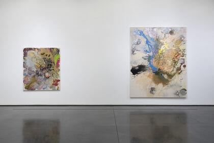John Armleder: Spoons, moons and masks