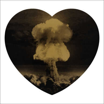 Iain Cadby, 'Love Bomb (Black and Gold) DELUXE EDITION', 2019