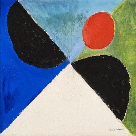 Sonia Delaunay, 'Rythme couleur', 1972