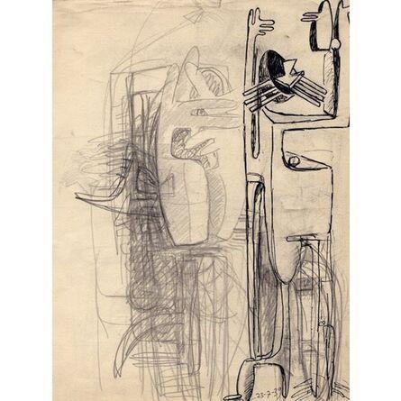 Julio González, 'Study for Cactus Man', 1939