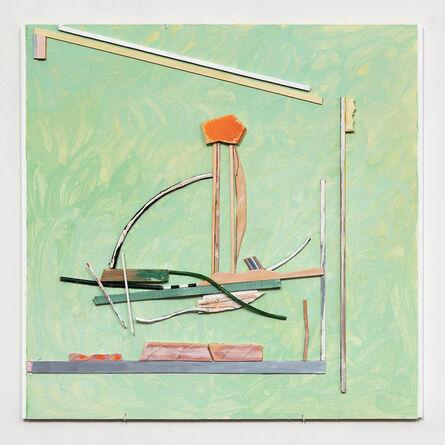 Elisabeth Munro Smith, 'Five Places: (Green)', 2016