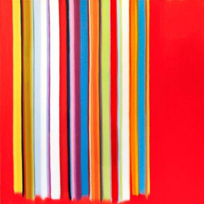 Anda Kubis, 'Swipe Up, Red', 2019