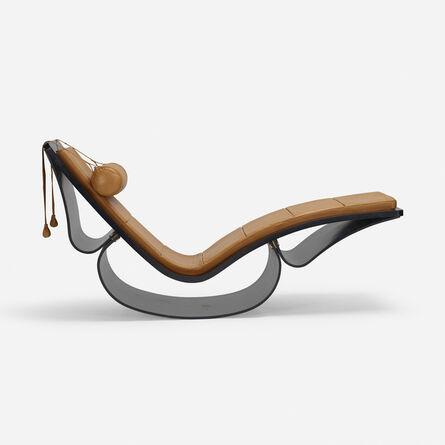 Oscar Niemeyer, 'Rio chaise lounge', c. 1978