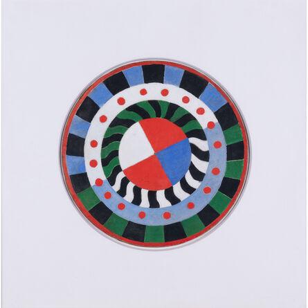 Sonia Delaunay, 'La cible, Projet pour le palais des chemins de fer de l'exposition internationale de Paris 1937', 1936-37