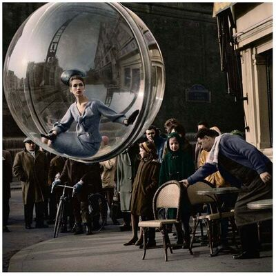 Melvin Sokolsky, 'With Chair II Color, Paris', 1963