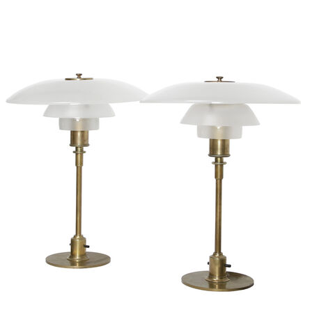 Poul Henningsen, 'Pair of table lamps', 1927