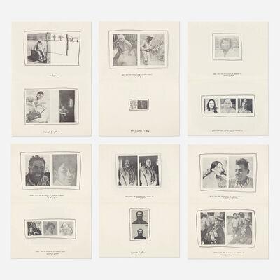 Richard Nonas, 'Details from the Excavation of Wooster Street portfolio', 1972