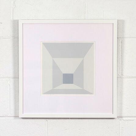Josef Albers, 'Mitered Squares – Fog', 1976