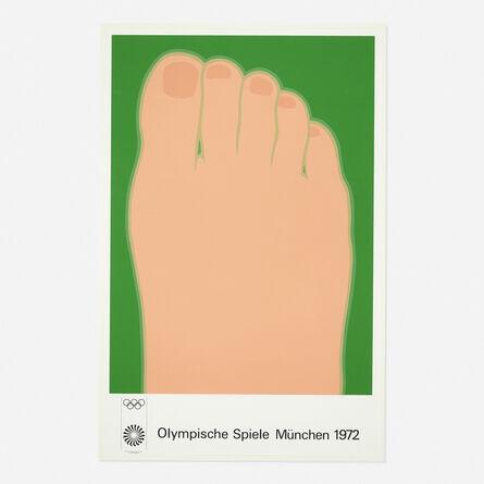 Tom Wesselmann, 'Olympische Spiele Munchen 1972', 1970