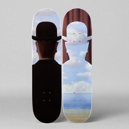 René Magritte, 'Décalcomanie Skateboard Decks by René Magritte', 2018