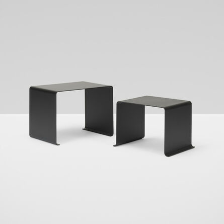 Dieter Rams, '010 nesting tables, set of two', c. 2010