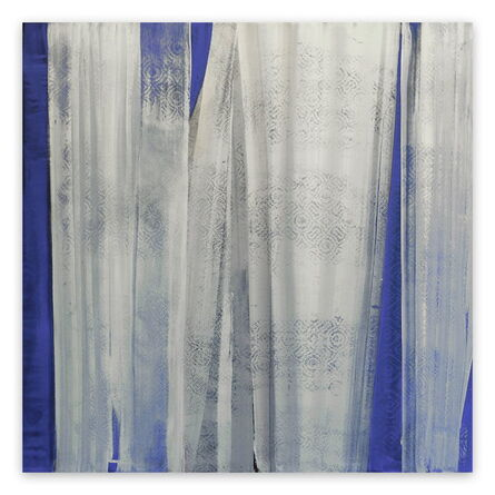Marcy Rosenblat, 'Blue View (Abstract painting)', 2015