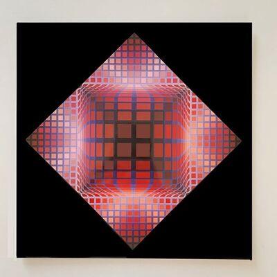 Victor Vasarely, 'Structure Universelle du Damier', 1971