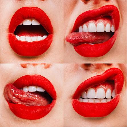 Tyler Shields, 'Lips 4', 2021