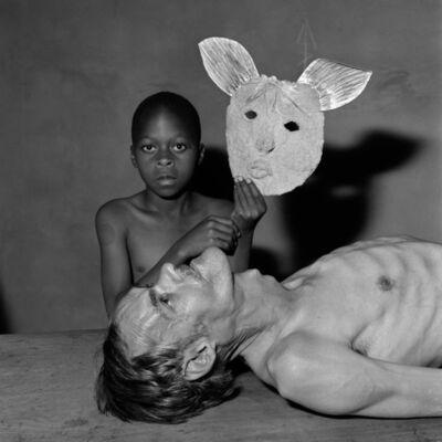 Roger Ballen, 'Tommy,samson and a mask', 2000