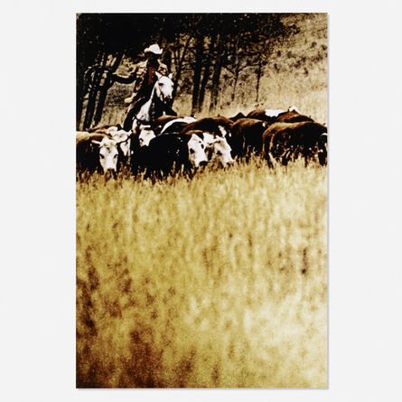 Richard Prince, 'Untitled (from the Cowboys and Girlfriends portfolio)', 1992