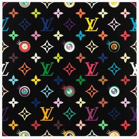 Takashi Murakami, 'Eye Love Superflat (black)', 2003