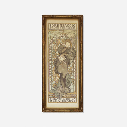Alphonse Mucha, 'Lorenzaccio, Theatre de la Renaissance', 1896/1899