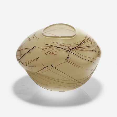 Dale Chihuly, 'Early Tabac Basket', 1978