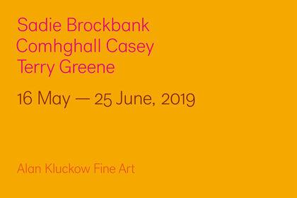 Sadie Brockbank, Comhghall Casey, Terry Greene