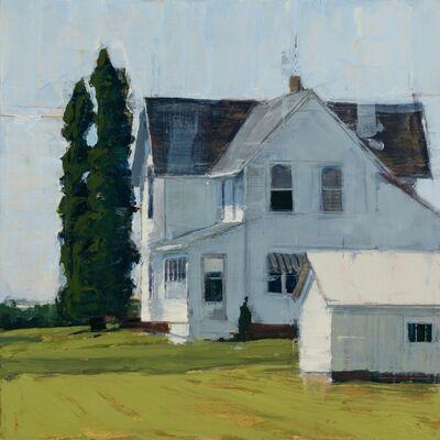 Stephanie Hartshorn, 'Cypress and White', 2018