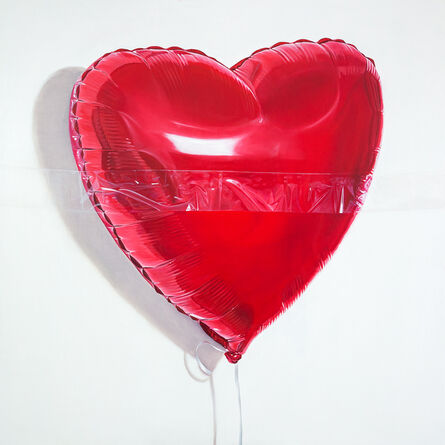 Sergey Piskunov, 'Red Balloon with Tape', 2020