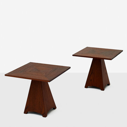 Harvey Probber, 'Pair of Side Tables by Harvey Probber', 1960-1969