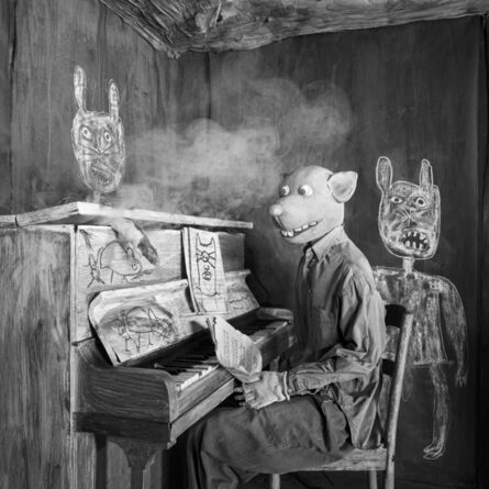 Roger Ballen, 'SMOKED OUT', 2020