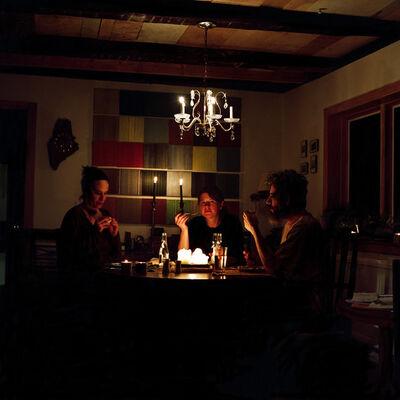 Tanja Hollander, 'Self portrait with Karin and Barry, Auburn, Maine', 2011