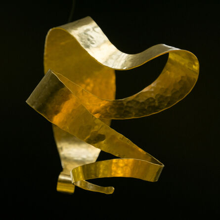 """Jacques Jarrige, 'Regal Gold-plated Bracelet by Jacques Jarrige """"Isadora""""', 2016"""