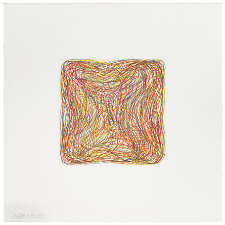 Sol LeWitt, 'untitled, from Eight Small Etchings', 1999
