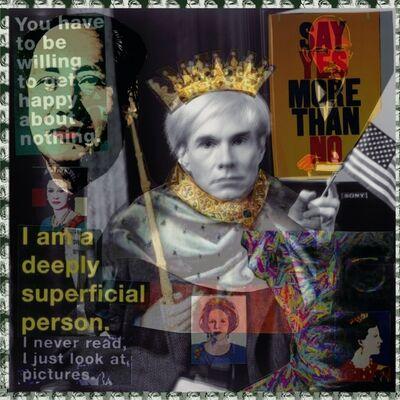 DJ Leon, 'King Warhol', 2014
